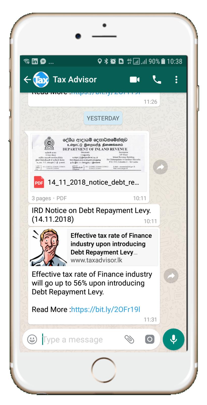 Tax Advisor - Instant Tax Solutions :: - Tax Updates